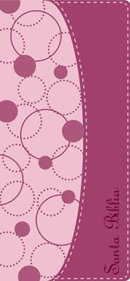 Biblia Contorno Fino Rosada (Piel Italiana rosa)