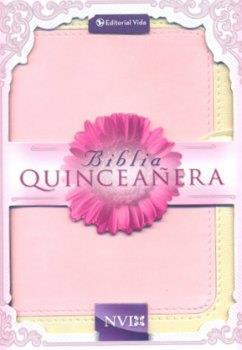 Biblia NVI Quinceañeras (Piel Rosado) [Biblia]