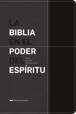 Biblia En El Poder Del Espiritu- Negra (Imitación Piel)
