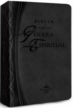 Biblia Para La Guerra Espiritual/RVR/Imitacion Piel/Negro