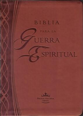 Biblia Para La Guerra Espiritual- Marron (Imitacion Piel )