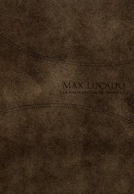 Biblia de promesas de Max Lucado (Piel) [Biblia]