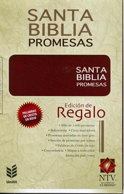 Biblia De Promesas NTV Edición de Regalo (Imitación Piel) [Biblia]