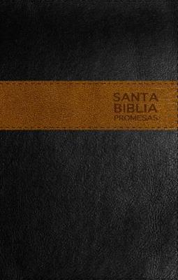 Biblia De Promesas Negro Marrón (Piel Especial) [Biblia]