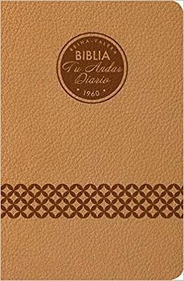 Biblia Tu Andar Diario - Almendra (Imitacion Piel )