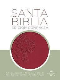 Biblia Compacta Imitación Piel Rubí (Imitación Piel) [Biblia]