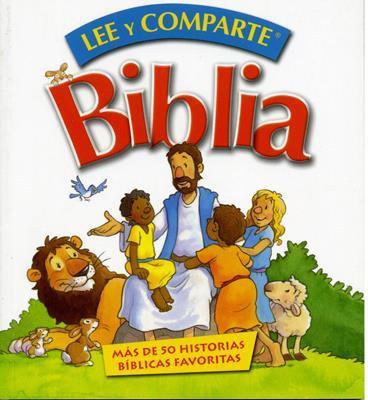 Lee y Comparte para Manos Pequeñas (Rústica) [Biblia]