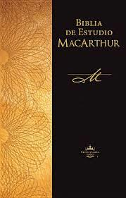 Biblia de estudio MacArthur (Rústica)