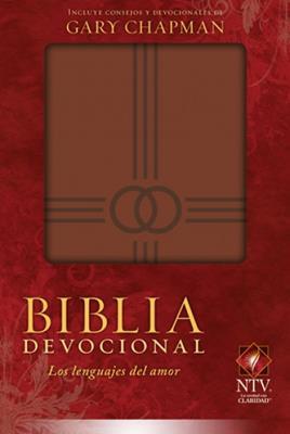 Biblia Devocional/Lenguajes Del Amor/Marron (Imitación Piel ) [Bíblia]