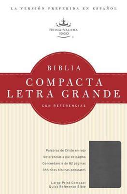 Biblia Compacta Letra Grande Referencias - Cuarzo Ahumado