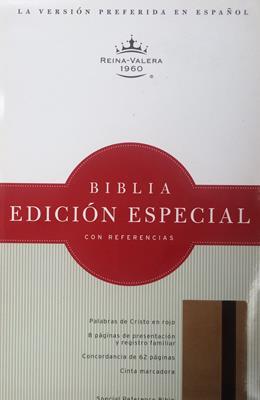 Biblia RVR60 Edicion Especial Oro - Marrón (Imitación Piel) [Biblia]