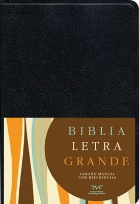 Biblia Letra Grande Manual - Negro (Imitación Piel) [Biblia]