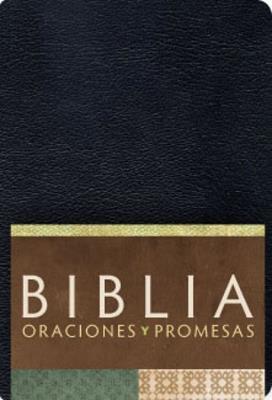 Biblia/RVC/Oraciones Y Promesas/Imitacion/Negro (Imitación Piel Negro) [Biblia]