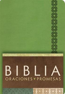 Biblia/RVC/Oraciones Y Promesas/Imitacioni/Indice/Verde Manzana (Imitación Piel) [Biblia]