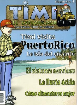 Timi el explorador (Rústica) [Revista]