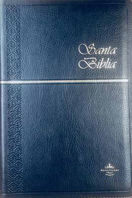 Biblia Tamaño65CXZTI Semifina - Indice - Azul Oscuro (Imitación Piel) [Biblia]