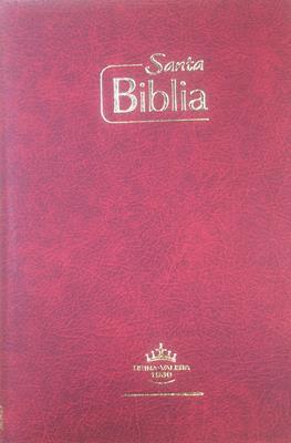 Biblia Tamaño65CZ Tipo Agenda Vinotinto (Imitación Piel) [Biblia]