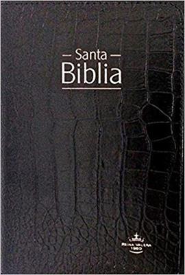 Biblia Tamaño 067 Tipo Agenda Negro (Imitación Piel) [Biblia]