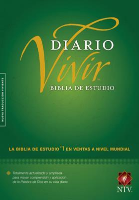 Biblia De Estudio Diario Vivir Tapa Dura (Tapa Dura) [Biblia]