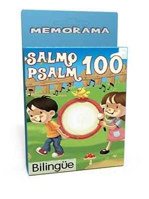Salmo 100 /Memorama/Bilingue (Cartón) [Juego]