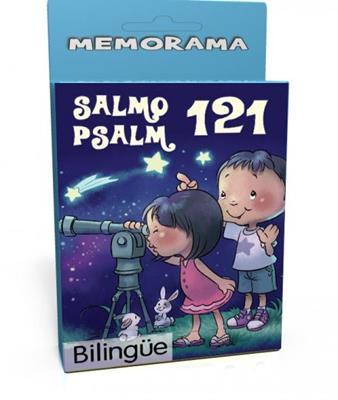 Salmo 121 /Memorama/Bilingue (Cartón) [Juego]