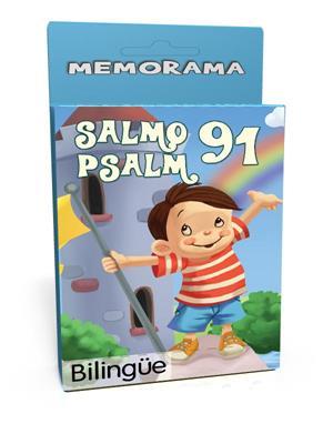 Salmo 91 /Memorama/Bilingue (Cartón) [Juego]