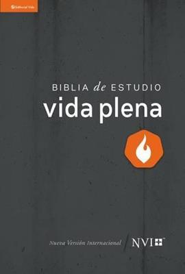 Biblia De Estudio/NVI/Vida Plena/Tapa Dura (Tapa Dura)