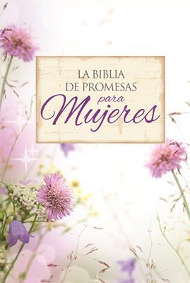 Biblia Promesas Letra Grande Piel Especial Floral (Imitacion Piel ) [Biblia]