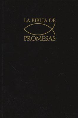 Biblia Promesas Negra (Rústica)