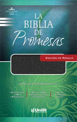 Biblia De Promesas Edición Regalo Imitación Piel Negro (Imitación Piel) [Biblia]