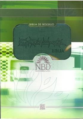 Biblia Bolsillo Compacta Piel Elaborada Verde (Imitación Piel) [Biblia]