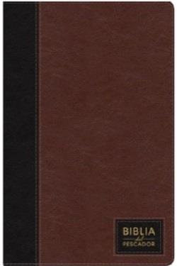 Biblia Del Pescador Cafe Oscuro Imitación Piel