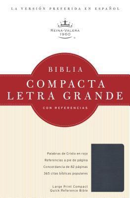 Biblia Compacta-RVR1960-Letra Grande (Imitacion Piel )