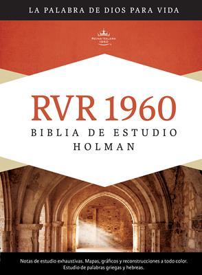 Biblia de Estudio Holman con índice (Tapa Dura con indice)