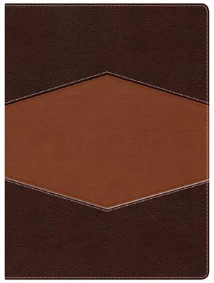 Biblia De Estudio/Holman/RVR1960/Chocolate Terracota/Simil Piel (Tapa simil piel chocolate - terracota)