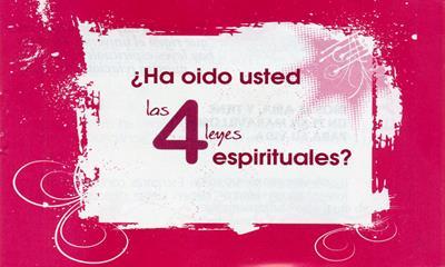 Las Cuatro Leyes Espirituales (Rústica) [Tratados]