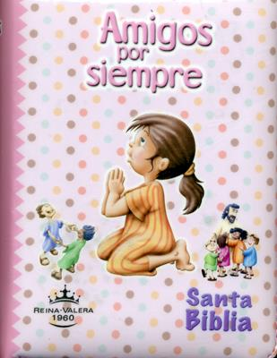 Biblia Amigos Por Siempre Forrada Rosada (Acolchada)