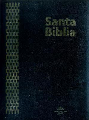 Biblia RVR 085 Negra Canto Dorado
