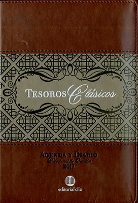 Agenda 2017 Tesoros Clasicos Cafe (Piel) [Agenda]
