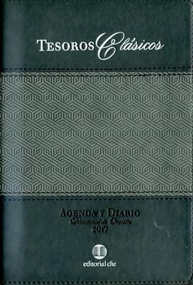 Agenda 2017 Tesoros Clasicos Negro (Piel) [Agenda]
