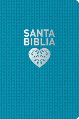 Biblia NTV/Edicion Personal/Letra Grande/Piel/ Aguamarina (Imitación Piel)