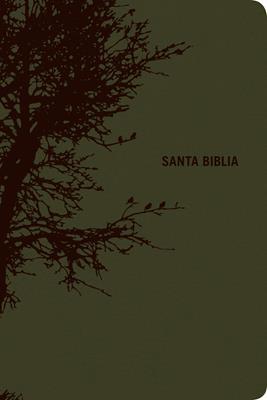 Biblia Edición Personal Letra Grande Verde Olivo