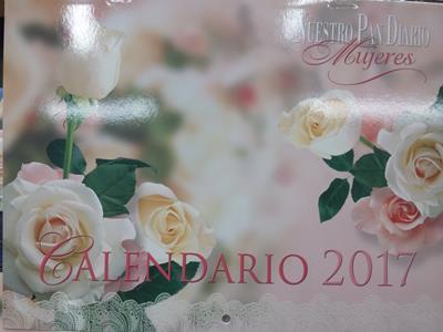 Calendario De Pared/Mujeres/Nuestro Pan Diario 2017
