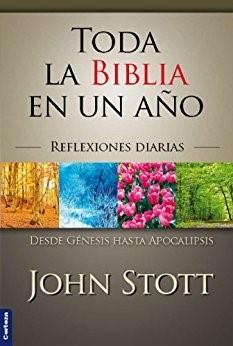 Toda La Biblia En Un Año/ Edicion Color (Rústica) [Devocional]