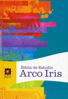 Biblia De Estudio Arco Iris Multicolor - Tapa Dura (Tapa Dura) [Biblia]