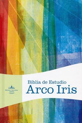 Biblia De Estudio Arco Iris RVR60  Tapa Dura Indice (Tapa Dura con Indice) [Biblia de Estudio]