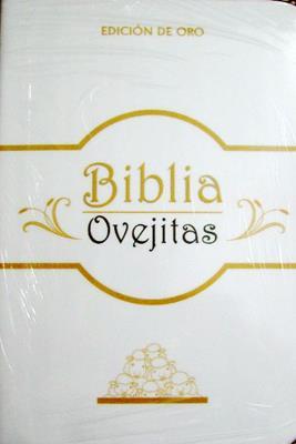 Biblia Ovejitas/RVR/Edicion Oro/Vinilo (Vinilo)