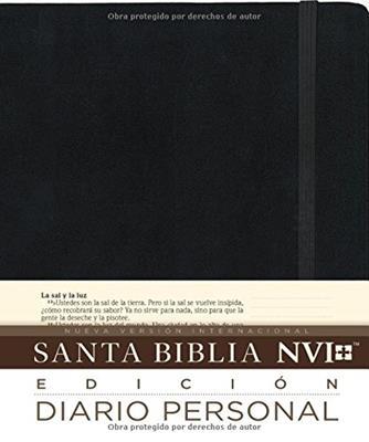 Biblias NVI/ Edicion Diario Personal/Negro (Tapa Dura)