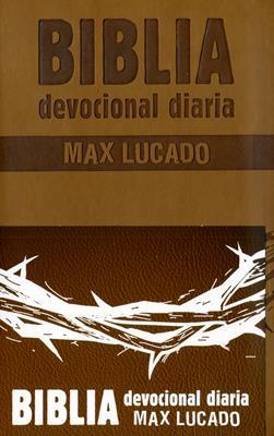 Biblia Devocional Max Lucado - Café (Imitación Piel)
