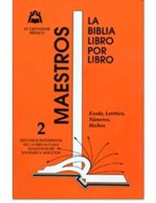 Biblia Libro Por Libro/Maestros Jovenes Y Adultos/Tomo 02 (Rústica)
